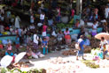 Fresh produce for sale at Honiara Central Market